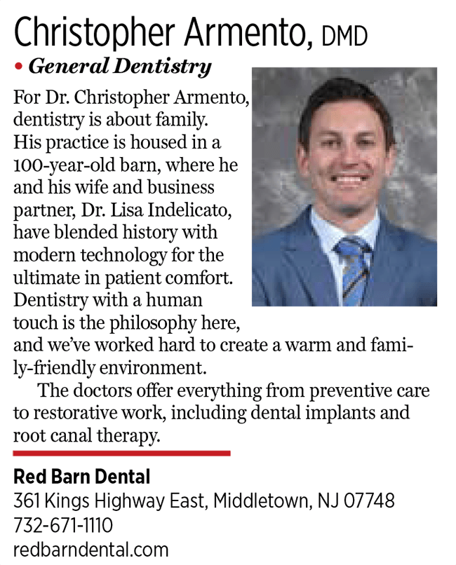 2017 Jersey Choice Top Dentist