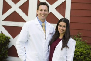 Dr. Christopher Armento and Dr Lisa Indelicato